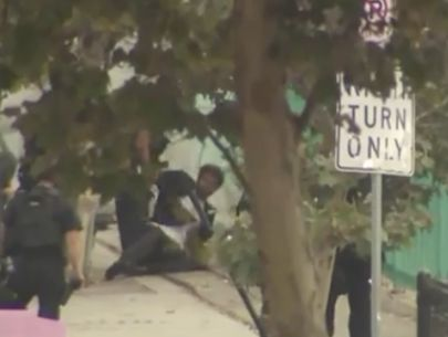 Suspected kidnapper in custody after standoff in downtown L.A.