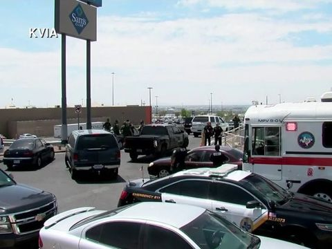 Several killed, 22 hurt in shopping area shooting; suspect in custody: cops