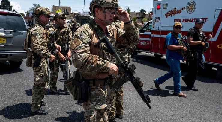 At least 20 killed, 26 injured in shooting in El Paso shopping area; gunman IDd as 21-year-old man: Police