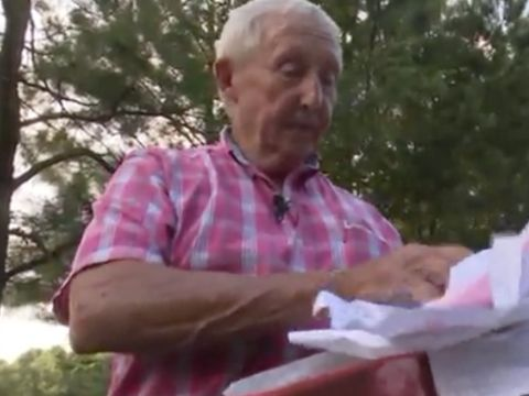 Resident finds blank checks, tax forms dumped in ditch