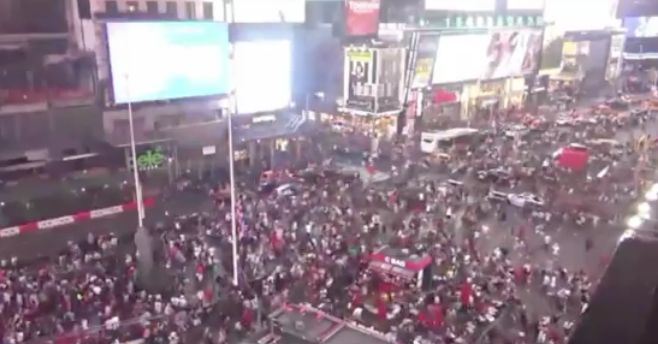 Motorcycle backfires, causes panic in Times Square; police confirm no gunshots fired