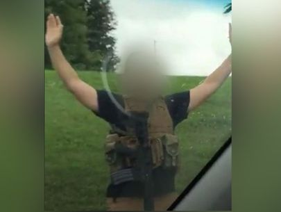 Armed man in body armor arrested at Walmart