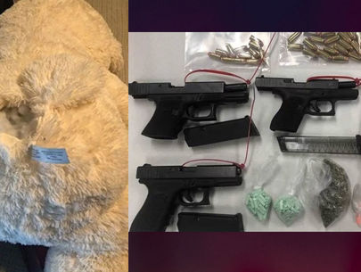 2 arrested after Nashville police find guns hidden in teddy bear