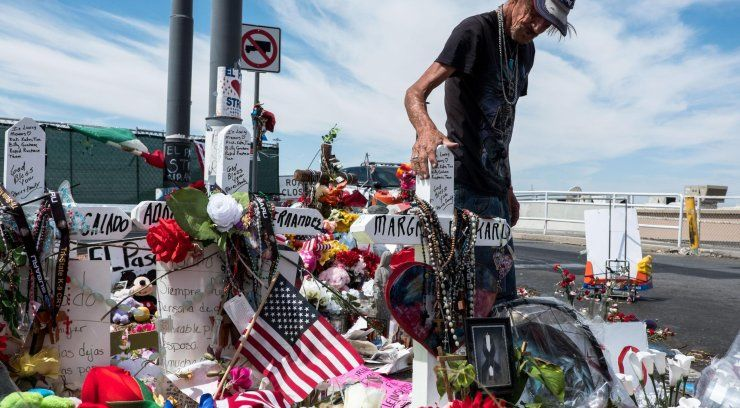 After his wife and only relative died in the El Paso shooting, Antonio Basco invited the public to her funeral