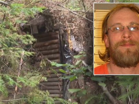 Man accused of child sex crimes hid in bunker for 3 years
