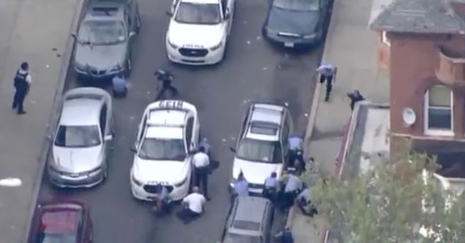 Philadelphia shooting standoff left 6 officers wounded; ends with arrest