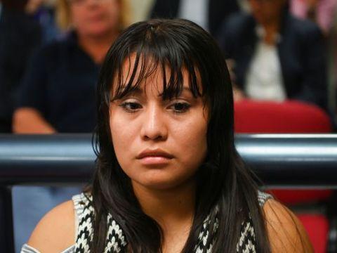Retrial for teenage rape victim accused of inducing abortion resumes