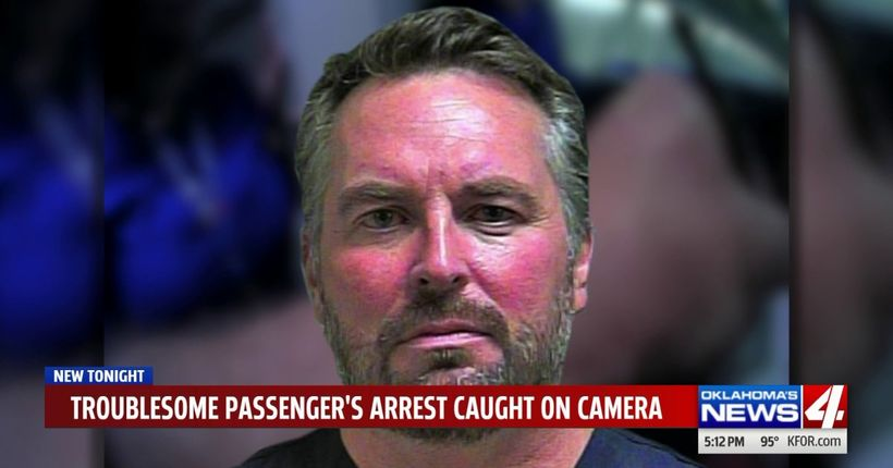 'Hey kids, we're all gonna die!' Body cam video shows arrest of passenger at OKC airport