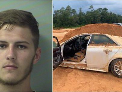 Man allegedly dumped dirt on car girlfriend was driving after personal issue