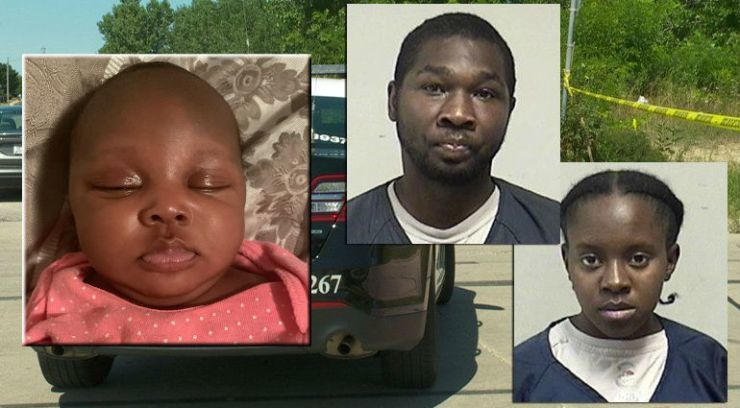 Police: Body of 2-month-old child disposed of in field, 2 persons expected to be charged