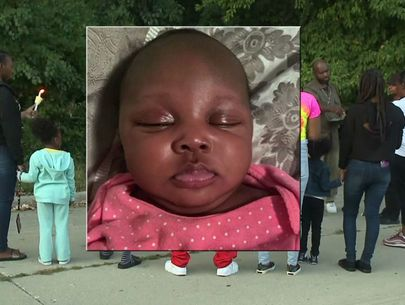 Mourners gather to remember baby abandoned in field