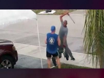 Florida man attacks jogger with machete over a wheelbarrow