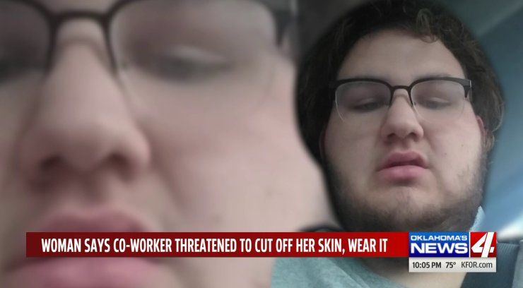 Nurse's aide threatens to 'skin' co-worker in front of patients