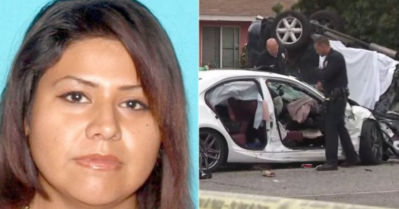 Woman arrested in Mexico 2 months after hit-and-run crash that killed father
