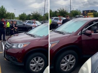 Mom arrested after boy left in SUV in parking lot: police