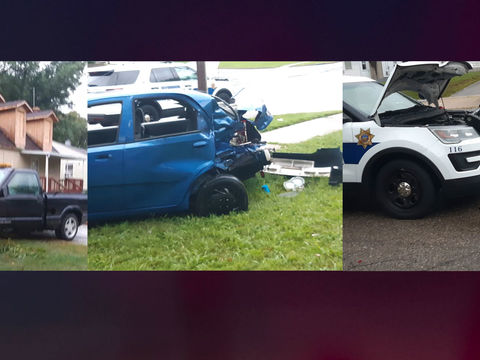 2 kids killed, 9 people injured in stolen police cruiser crash