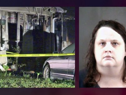 Woman accused of setting home on fire with mom inside; 4 pets killed