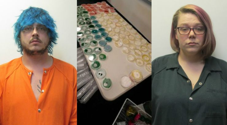 Indiana couple arrested for allegedly growing, dealing psychedelic mushrooms