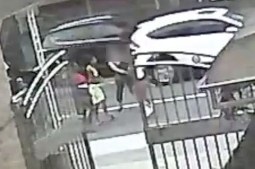 Video: Teens steal woman's cane... then beat her with it