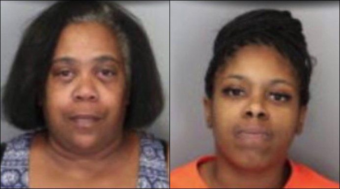 Mother and daughter accused of stealing crab legs in purse, punching manager