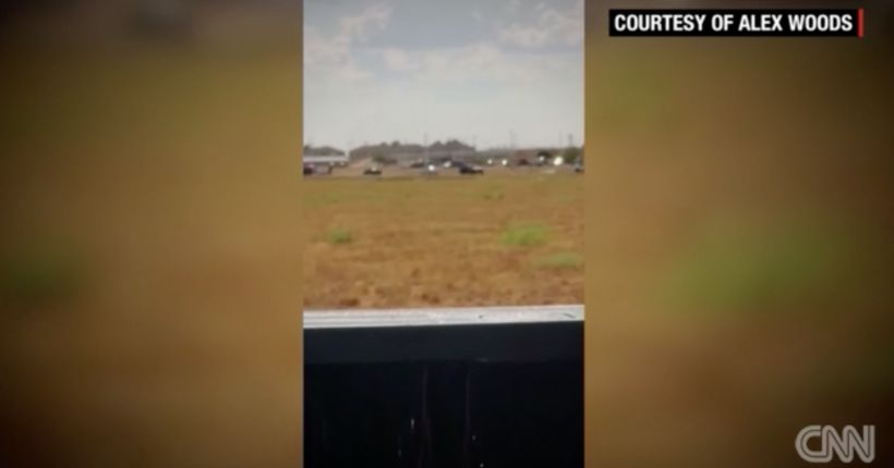 A shooting rampage that left 7 dead started with a traffic stop in West Texas