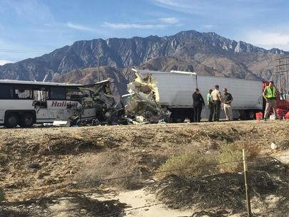 Trucker sentenced to 4 years for desert crash that killed 13 people