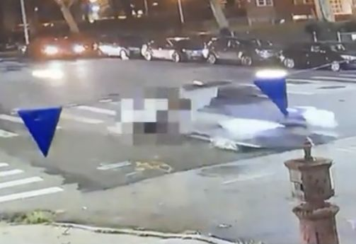 Video: Speeding car strikes, drags and kills young dad in Brooklyn hit-and-run