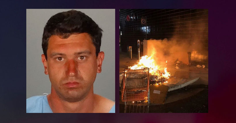 California man arrested for allegedly setting homeless man on fire, taking pics