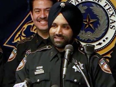 Man accused of killing Texas county's 1st Sikh deputy was wanted: Officials