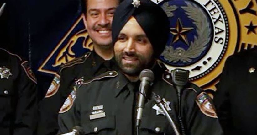 The man accused of killing Texas county's first Sikh deputy was wanted for parole violation, officials say