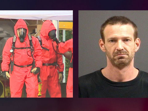 Man charged with making meth in home with children around