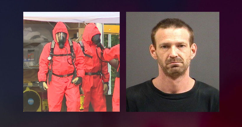 Man charged with making meth in Virginia home with children around