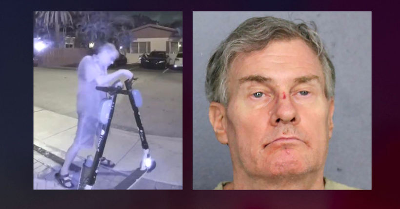Florida man accused of cutting brake lines on dozens of electric scooters