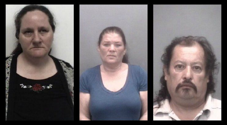 3 people arrested after allegedly trading toddler for vehicle in Thomasville