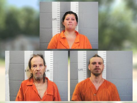 Children found living among rats, trash in home leads to three arrests