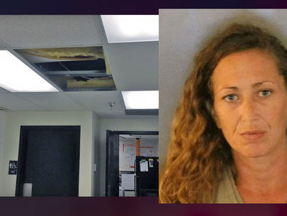 Florida woman hides in store's ceiling to avoid shoplifting arrest
