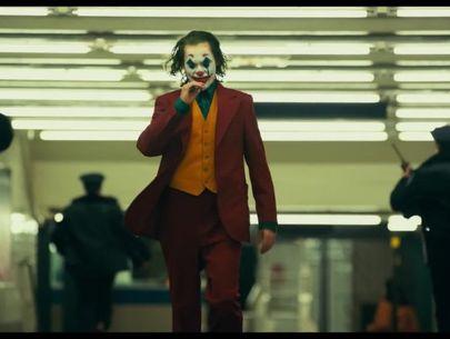 2 men arrested during 'Joker' screening