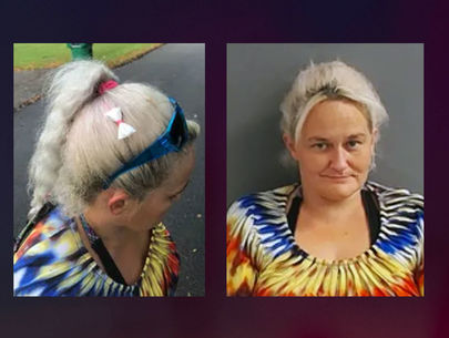 Woman 'didn't know' there was a meth 'bow' in her hair, police say