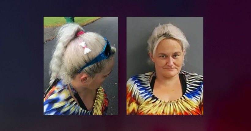 Woman 'didn't know' there was a meth-filled 'bow' in her hair, police say