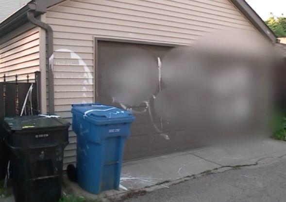 Swastika painted on Northwest Side family's garage