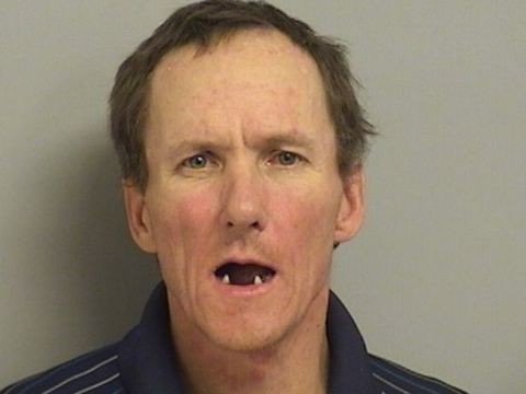 Man allegedly used potted plants to try to break into woman's apartment