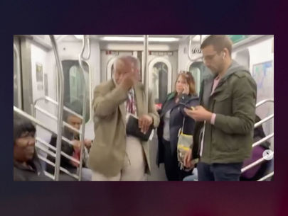 79-year-old man beaten bloody with high heel after preaching on train: Source