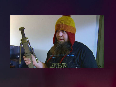 Michigan man repels home-invasion intruder using battle axe