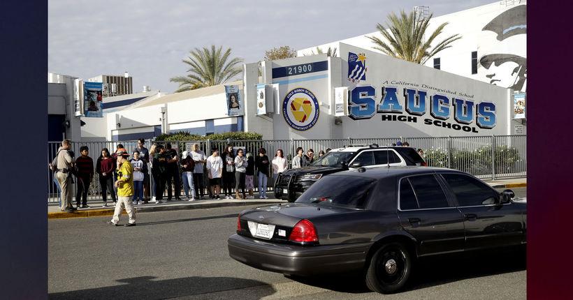 Santa Clarita school shooting: 2 killed, student suspect dead