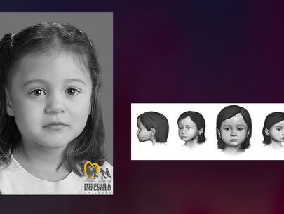 Remains found: Investigators release reconstruction of unidentified girl