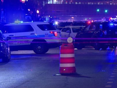 Officer shot in head during gun battle with robbery suspect