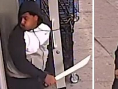 Machete-wielding man slashes teen in laundromat