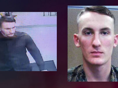 Marine wanted for allegedly killing mom's boyfriend captured