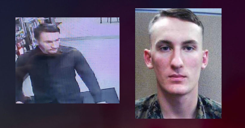 Marine deserter wanted for allegedly killing mother's boyfriend captured in Virginia