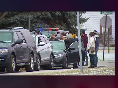 Teen with handgun shot by officer inside Wisconsin high school